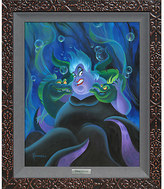 Disney ''Ursula and Her Messengers'' Giclée on Canvas by Michael Humphries - Limited Edition