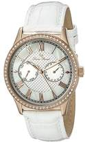 Lucien Piccard Women's LP-10334-RG-02-WHT Brela Stainless Steel Watch