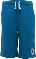Converse Boys French Terry Shorts Spray Paint Blue