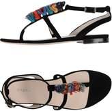 Brera Toe strap sandals