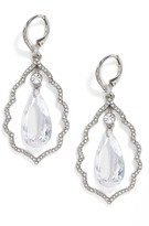 Jenny Packham Women's Orbital Crystal Drop Earrings
