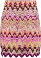 Missoni Crochet-knit mini skirt