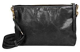 Isabel Marant Women's Nessah Leather Crossbody Bag
