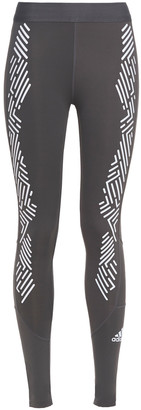 adidas Cropped Printed Stretch Leggings