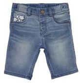 F&F Denim Long Line Shorts, Toddler Girl's