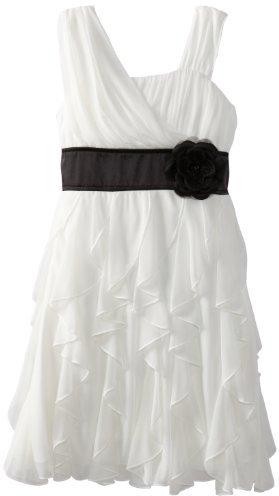 My Michelle Girls 7-16 Cascade Skirt Dress