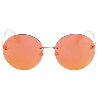 Chanel Orange Metal Sunglasses