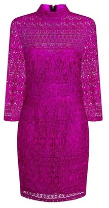 Dorothy Perkins Womens **Paper Dolls Pink Lace Bodycon Dress, Pink