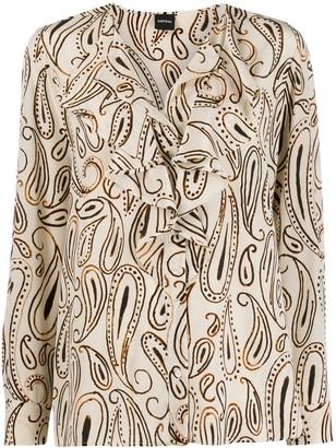 Aspesi Paisley Print Blouse