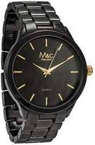 MC M&c Ferretti Men's | Stainless Steel Black Dial Watch | FT14302
