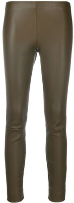 Vince High Rise Skinny Trousers