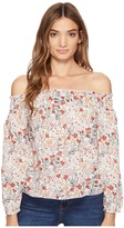 Brigitte Bailey Karlee Off the Shoulder Floral Top Women's Clothing