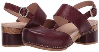 Dansko Malin (Black Full Grain) Women's Shoes