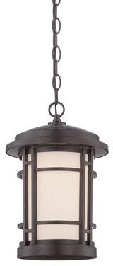 Cardin 1-Light Outdoor Hanging Lantern Brayden Studio