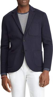 Ralph Lauren Double Knit Tech Blazer