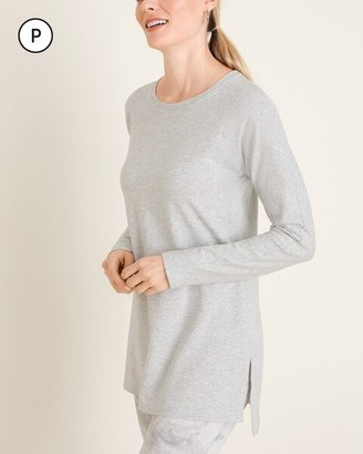 Zenergy Petite Seam-Detail Tunic