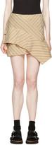 Isabel Marant Ecru Pinstripe Kimura Miniskirt