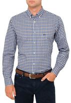 Paul & Shark Check Shirt With Contrast Lining