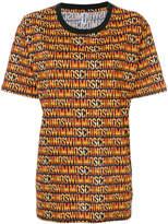 Moschino monogram print T-shirt