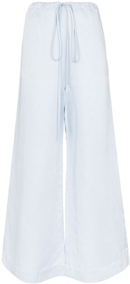 BONDI BORN Wide-Leg Trousers
