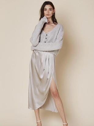 SABLYN Bianco Cropped Cardigan