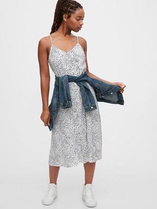 Gap Print Cami Dress