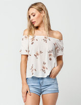 Mimichica MIMI CHICA Floral Off The Shoulder Top