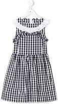 Simonetta checked dress