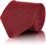 Isaia Men's Solid Necktie-RED