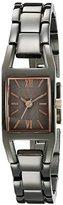 Anne Klein Women's 10/6419GYRT Light Grey Bracelet Watch