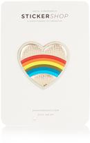 Anya Hindmarch Heart Rainbow small sticker