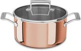 KitchenAid 3-Ply Copper Casserole Pan