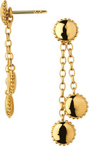 Links of London Amulet 18ct gold vermeil drop earrings