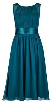 Dorothy Perkins Womens **Showcase Petite Forest Green 'Bethany' Midi Dress, Green