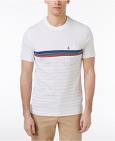 Original Penguin Men's Slim-Fit Stripe T-Shirt