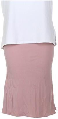 Roberto Cavalli Pink Skirt for Women