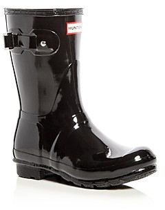 Hunter Women's Original Short Gloss Rain Boots