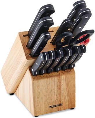 Farberware 15-Pc. Knife & EdgeKeeper Block Set