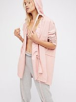 Free People Pleats And Pullover Cardi