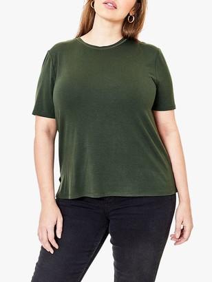 Oasis Curve Step Hem Short Sleeve T-Shirt