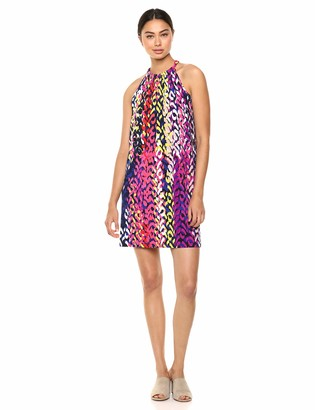 Trina Turk Trina Women's Juju Printed Jersey Sleeveless Dress