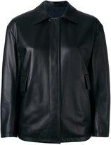 Jil Sander reversible leather jacket - women - Lamb Skin/Polyamide/Polyester - 36