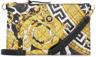 Versace Quilted Leather Clutch