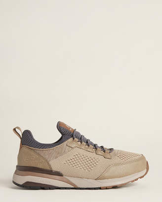 Skechers Taupe Relaxed Fit Norgen-Vore Slip-On Sneakers