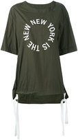 DKNY The New New York Shirt with drawcords - women - Nylon - L
