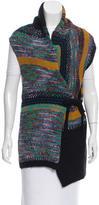 Dries Van Noten Wool Abstract Vest