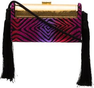 BIENEN-DAVIS Regine tassel-embellished clutch