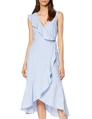 Warehouse Women's Frill Front Dress,(Size:)