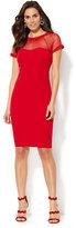 New York & Co. Mesh Sheath Dress