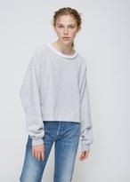 Rachel Comey Heather Grey Mingle Sweatshirt